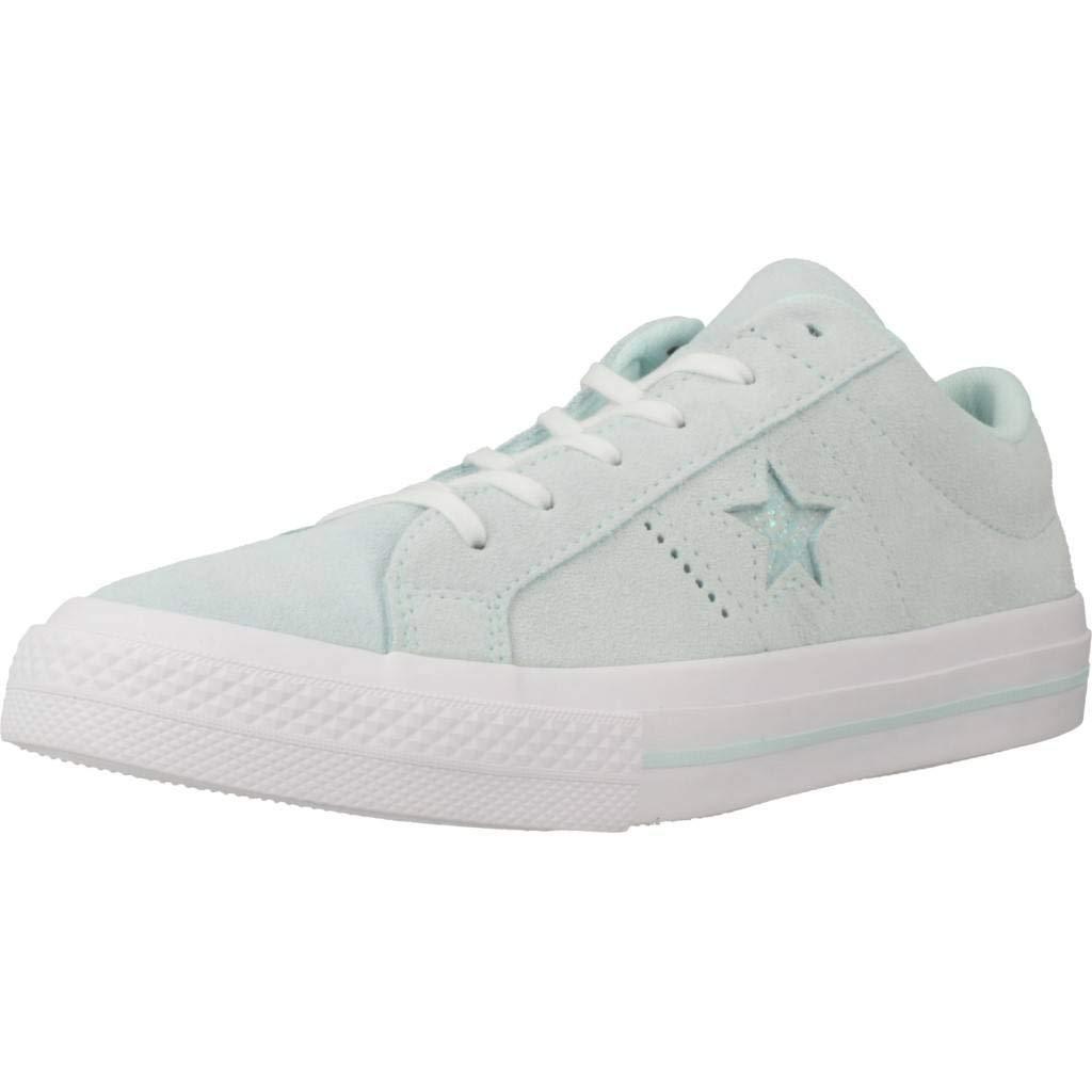 Converse Damen Laufschuhe Farbe Grün Marke Modell Damen Laufschuhe ONE Star OX Grün