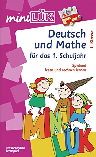 Minilük Deutsch Und Mathe Set Mathestation 1 Klasse