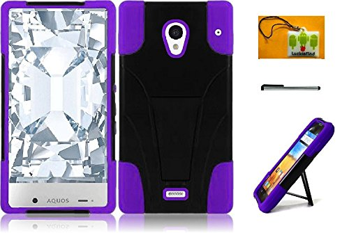 sharp aquos crystal purple case - 6