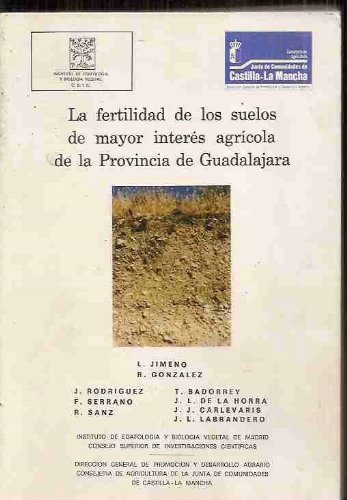 Descargar Libro La Fertilidad De Los Suelos De Mayor Interés Agrícola De La Provincia De Guadalajara Varios