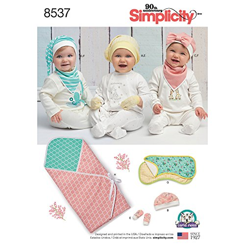 Simplicity Creative Patterns US8537OS Sewing Pattern Crafts