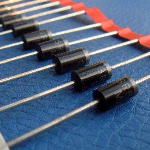 Electronics-Salon 10 PCS SR5100 5 Amp 100V Schottky Rectifier Diode, SB5100.