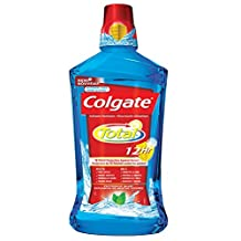 Colgate Total Peppermint Blast Mouthwash, 1000ml