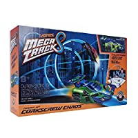 Deals on Lionel Mega Tracks Corkscrew Chaos Green Engine