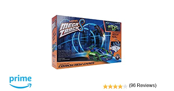 Lionel Mega Tracks - Corkscrew Chaos Green Engine