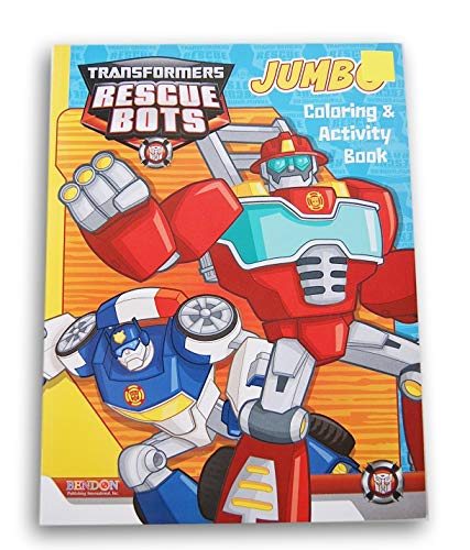 Transformers Rescue Bots Jumbo Coloring & Activity Book -