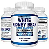 White Kidney Bean Extract – 100% Pure Carb Blocker and Fat Absorber for Weight Loss – Intercept Carbs – Arazo Nutrition