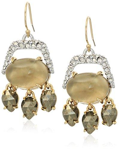 Multi Stone Chandelier Earrings - 7