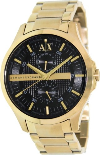 k Dial Gold PVD Mens Watch AX2122 ()