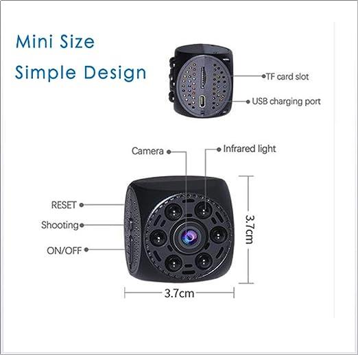 YAMEIJIA Wireless WiFi Mini Deportes cámara, Red P2P Mini cámara Video CAM grabadora de Voz de detección de Movimiento Mini videocámara SMS Alarma grabadora ...