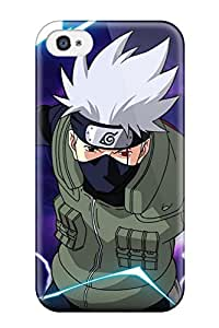 Best 6955495K77122263 Pretty Iphone 4/4s Case Cover/ Kakashi Series High Quality Case