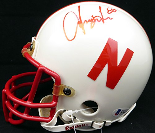 Irving Fryar Autographed Nebraska Cornhuskers Mini Helmet Beckett BAS #B26629