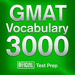 Official GMAT Vocabulary 3000 Audiobook