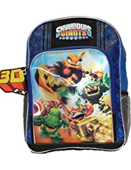 Full Size Black and Blue Skylanders Giants Kids Backpack