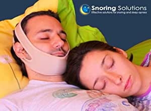 PREMIUM COMFORT STOP SNORING JAW STRAP - 2nd Generation Model (Improved Based on User Feedback)