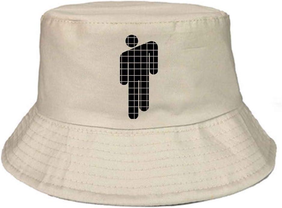LXIN Billie Eilish Cappello da Pescatore Stampato Personalizzato Cappello Femminile Giapponese Semplice