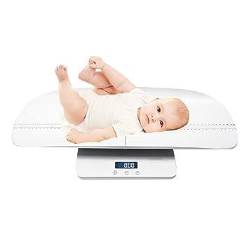 LoveOlvidoE Precisión del Peso del bebé Escala electrónica Pantalla LCD Escala de Grasa Corporal Digital Básculas para bebés Baño Gimnasio Peso: Amazon.es: ...