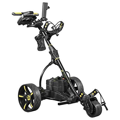 Bat Caddy X3R Remote Electric Golf Trolley - Black - Lithium Battery