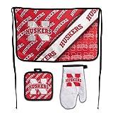 Wincraft NCAA University of Nebraska Barbeque Premium Tailgate Set