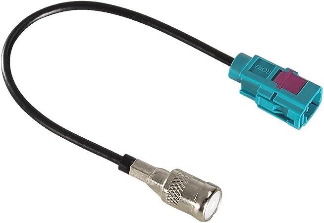 Hama Antennen Adapter Fakra Stecker Iso Buchse Für Elektronik