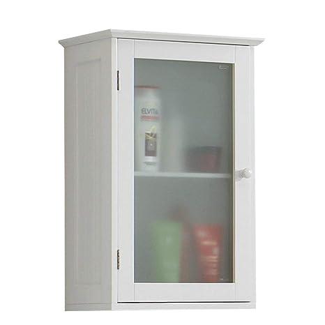 13Casa - Eva A5 - Pensile bagno. Dim: 40x20,5x60 h cm. Col: Bianco ...