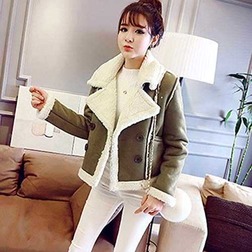 Manga Algodón Nieve Larga Abrigo De Verde Cebbay Caliente Moto La Sintética Para nbsp;chaqueta Top Piel Trajes Liquidación Aw4vYq