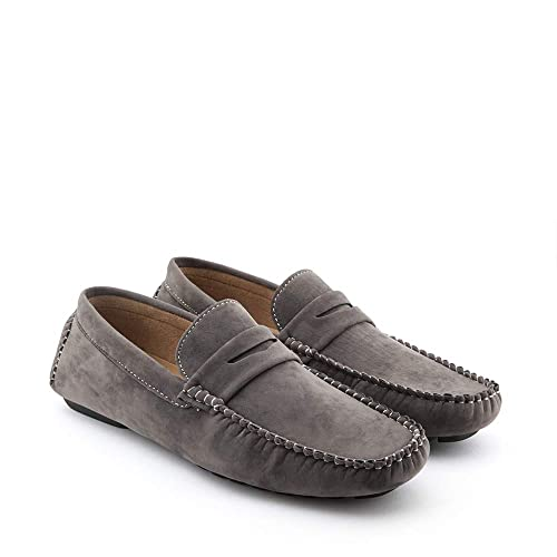 Mocassini Uomo Gianni Shoes Loafers Scamosciati Scarpe