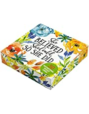 She Believed She Could, So She Did Insight Cards (Deck of 50 inspirational cards)