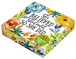 She Believed She Could, So She Did Insight Cards: Empowering Thoughts and Quotations for Women