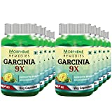 Morpheme Garcinia 9X For Weight Management 60 Veg Caps (Pack Of 10)