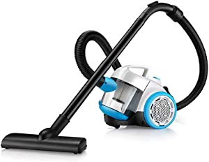LZiioo Whirlwind Bagless Canister Vacuum Cleaner, Lightweight Corded Vacuum for Carpets and Hard Floors
