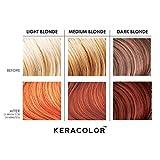 Keracolor Clenditioner Color Depositing Conditioner - Hair Glaze Colorwash, Copper, 12 Fl Oz