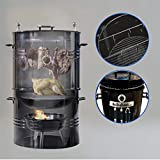 Best Bbq Smokers - EasyGO Big Bad Barrel BBQ 5 in 1 Review