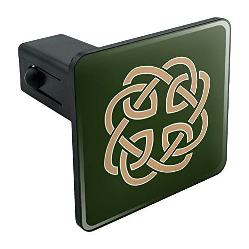 Eternity Cover (Celtic Knot Love Eternity Tow Trailer Hitch Cover Plug Insert 1 1/4 inch (1.25