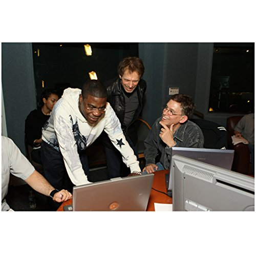 G-Force Tracy Morgan as Voice of Blaster Leaning Over Laptops 8 x 10 inch ()