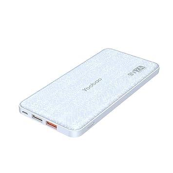 Cargador portátil de Carga 12000 mAh Delgado con Quick Charge batería Externa