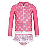 Sun Emporium Baby Girls Coral Indian Damask Zip Jacket Nappy Cover Set 12M