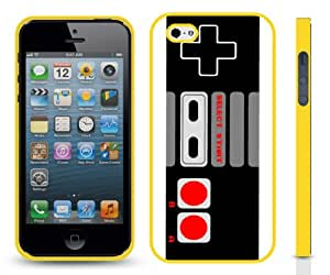 Early Age Classic Gaming Controller Design Snap-on Cover Hard Carrying Case for iPhone 5/5s