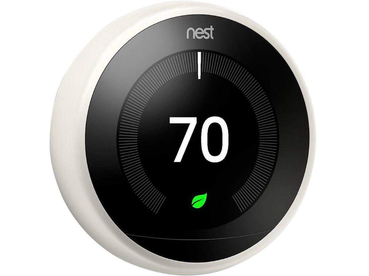 Nest Learning Thermostat - 3rd Generation, White T3017US