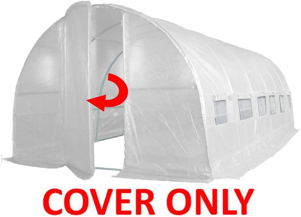 6m x 3m Crocodile Trading Replacement Poly Tunnel Cover for OUR 6m x 3m.
