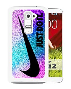 Newest LG G2 Case ,Nlke Just do it 49 White LG G2 Cover Case Fashionable And Popular Designed Case Good Quality Phone Case