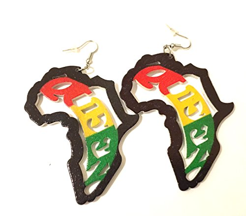 style, African american fashion Earrings ()