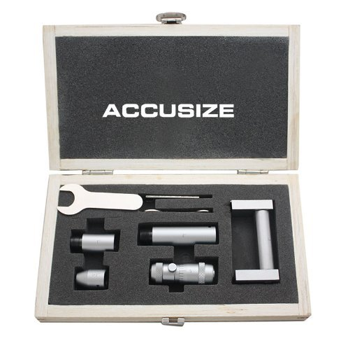 Accusize Tools - 2-12'' Inside Micrometers Set 0.001'' Increments, #3011-3051
