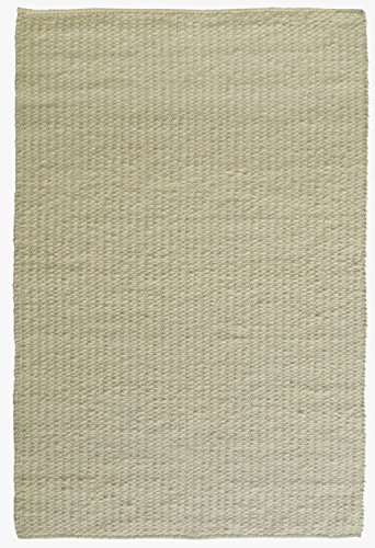 Jovi Home Knit Hand Made Berber Rug 5-Foot by 8-Foot, Natural/Off White
