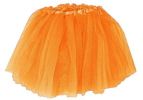 Girls Ballet Tutu Orange Coxlures