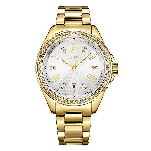 JBW Women's Capri J6340B Gold Diamond Watch