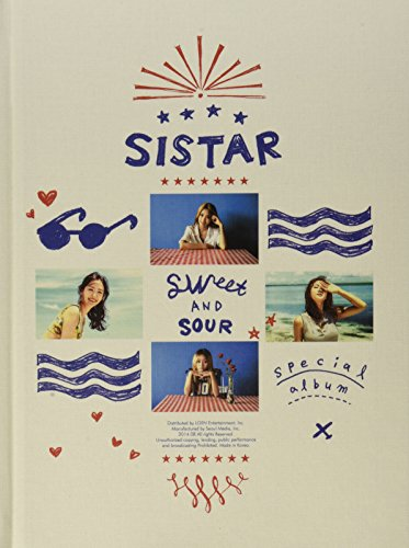 CD : Sistar - Sweet & Sour (Asia - Import)