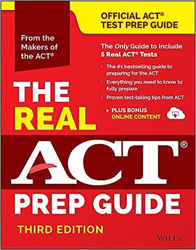 Download ebook the official act prep guide book bonus online.