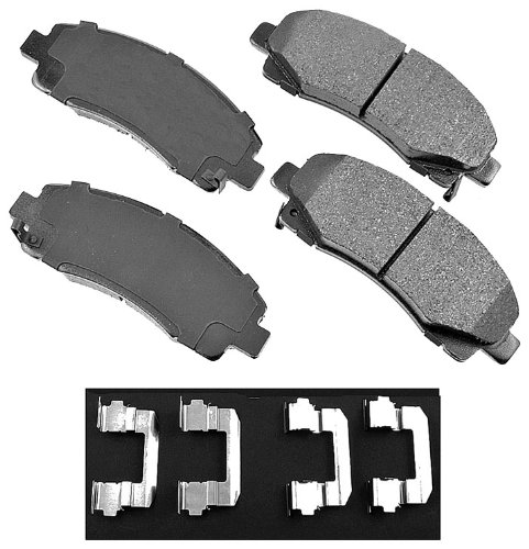 Akebono ACT1102 ProACT Ultra-Premium Ceramic Brake Pad Set