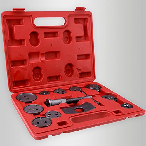 Dtemple 12pcs Universal Tools Piston Pad Disc Brake Caliper Wind Back Kit for Automobiles Trucks/Cars Vehicle Tools Car repair